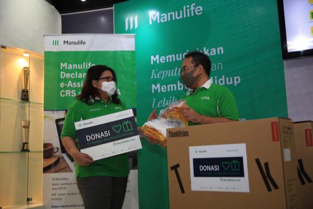 Manulife Indonesia Kucurkan Klaim Nasabah COVID-19 Sebesar Rp54,5 Miliar