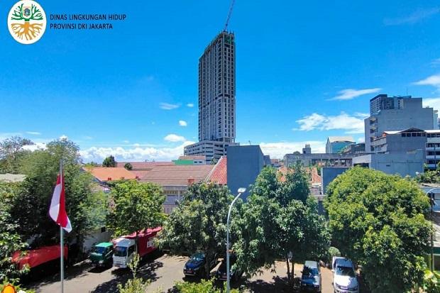 Penjelasan BMKG Soal Fenomena Langit Biru Jakarta