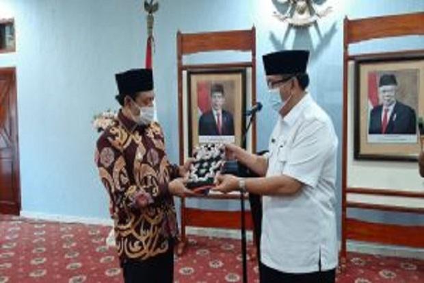 Kunker Plt Bupati Musi Rawas, Saling Tukar Program dengan Pemkot Bengkulu