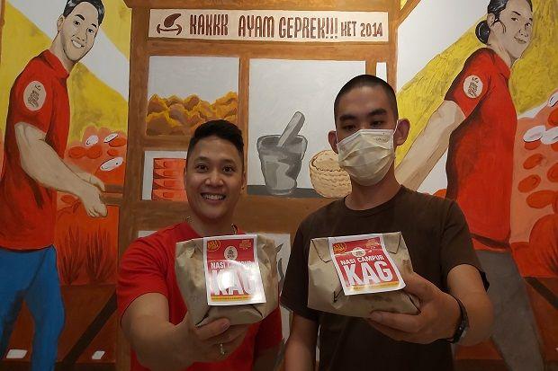 Di Tengah Pandemi COVID-19, Pengusaha Kuliner Surabaya Hadirkan Menu Nasi Campur