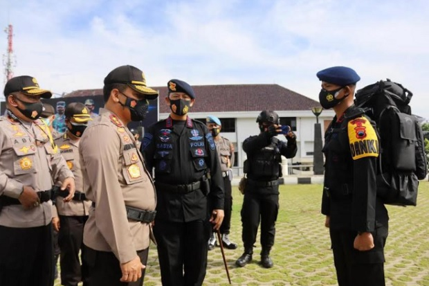 Kapolda Jateng Tegaskan Polri Tak Ada Beban Mencatat Hasil Pilkada