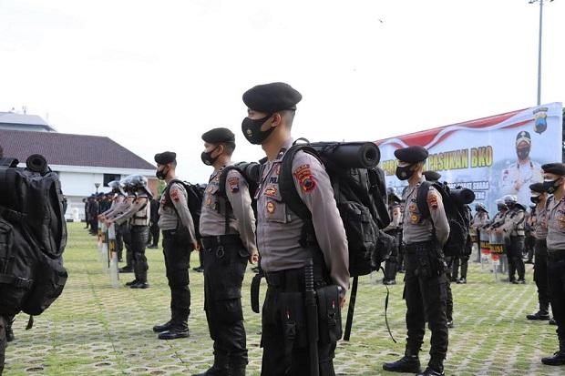 Cegah Klaster COVID-19, Polisi Pengamanan Pilkada Dilarang Grudak-gruduk