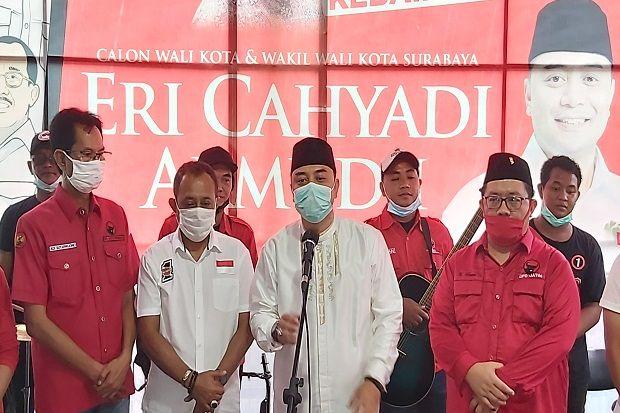 Menang Pilwali Surabaya Versi Quick Count, Eri Cahyadi: Innalillahi Wainnailaihi Rojiun