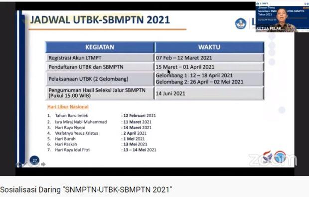 Jangan Sampai Terlewat Begini Tahapan Pendaftaran Sbmptn 2021