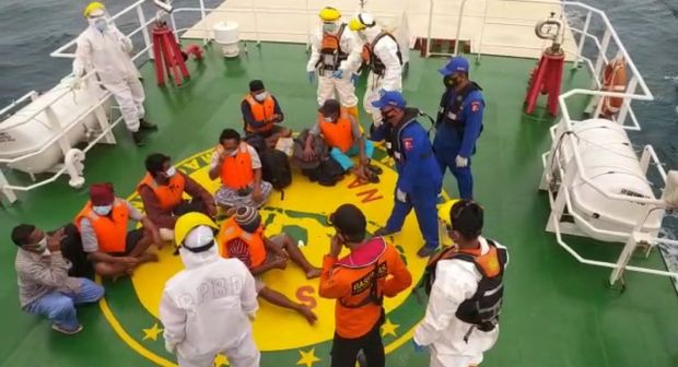 Kapal KML Lima Saudara Tenggelam, 7 ABK Selamat Usai Terombang-ambing di Laut Lepas