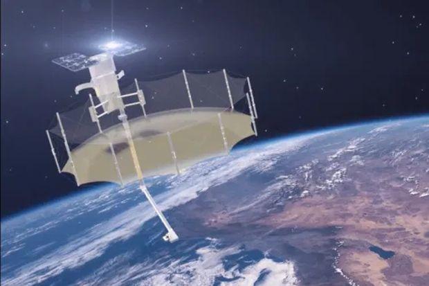 Satelit Mata-mata Ini Bisa Mengamati Anda dalam Cuaca Buruk Sekalipun