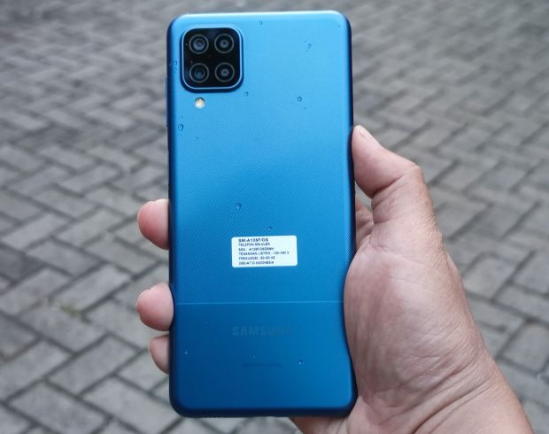 Kamera Samsung Galaxy A12