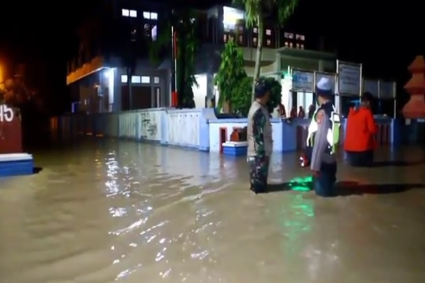 5 Kecamatan di Cirebon Terendam Banjir Kiriman dari Kuningan