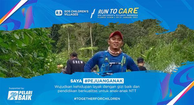 Demi Gizi 1.645 Anak di Flores, Sejumlah Orang Akan Berlari Larantuka-Meumere Sejauh 152 Km