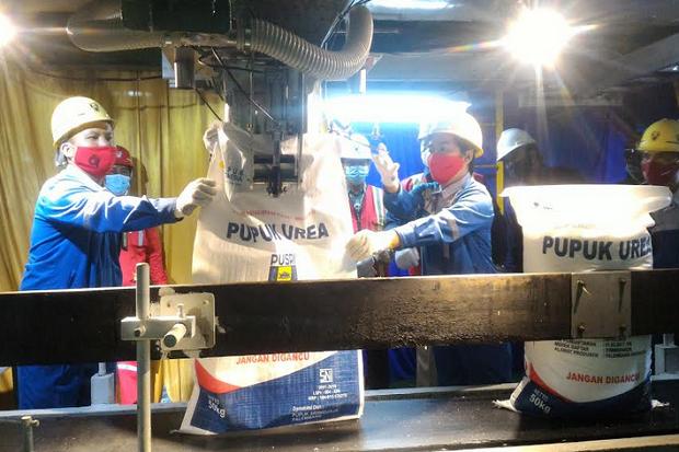 2020, Capaian Produksi Pupuk PT Pusri Lampaui RKAP