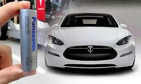 Mobil Listrik Tesla Bakal Menggunakan Baterai Panasonic