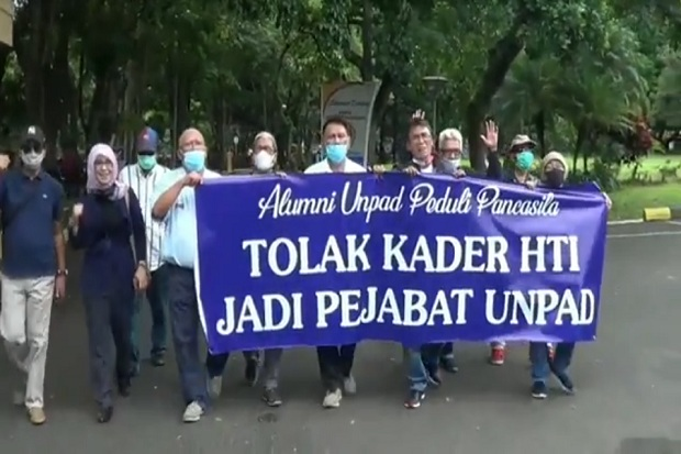 Alumni Unpad Sesalkan Ada Kader HTI yang sempat 2 Hari Diangkat jadi Wakil Dekan