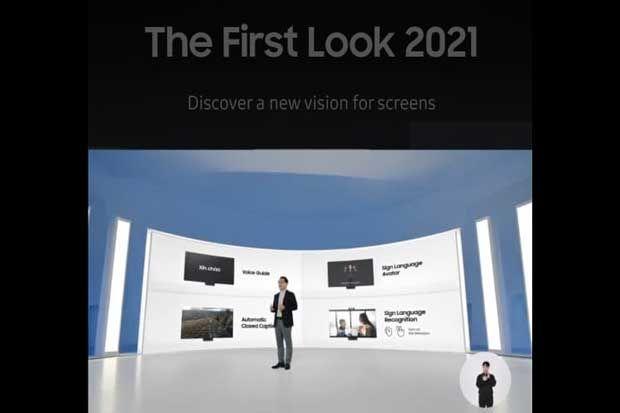 Bocoran Teknologi Terbaru Smart TV yang Dipamerkan Samsung di CES 2021