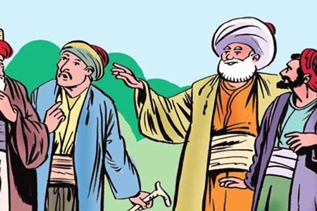 Canda Ala Sufi: Andai Kau Lepas Bajumu dan Lari Mendahului Burung