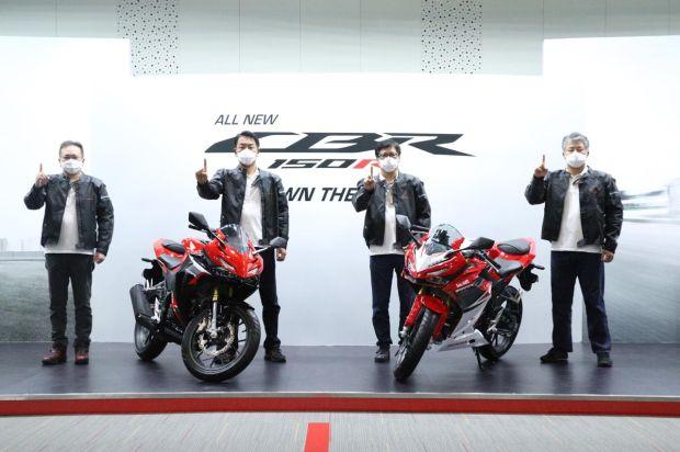 AHM Resmi Luncurkan All New Honda CBR150R 2021