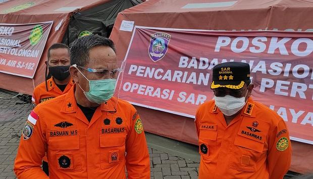 Basarnas Ungkap Banyak Petugas dan Relawan Operasi SAR Sriwijaya Air Reaktif Covid-19