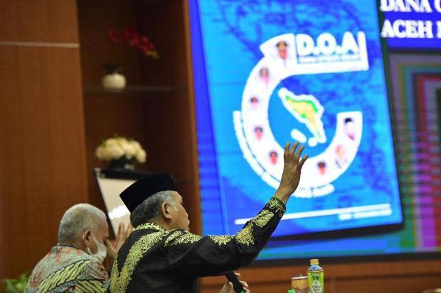 Pemerintah Aceh Luncurkan Buku Dana Otsus Abadi