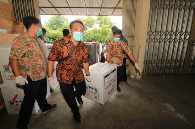 16 Nama Diajukan Ikut Vaksinasi COVID-19 di Surabaya, 4 Orang Belum Terkonfirmasi