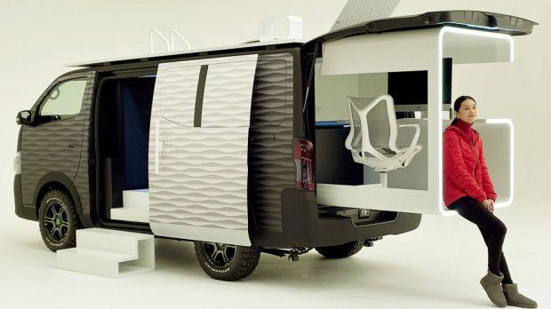 Nissan Bikin Mobil yang Bisa Digunakan Bekerja Sambil Berwisata