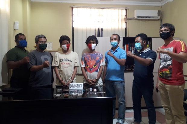 Resahkan Warga, Polisi Ringkus 2 Pengedar Sabu di Penjaringan