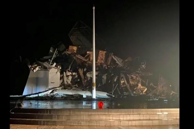 Gempa Majene 6,2 SR Hancurkan Kantor Gubernur, Hotel, dan Rumah Sakit
