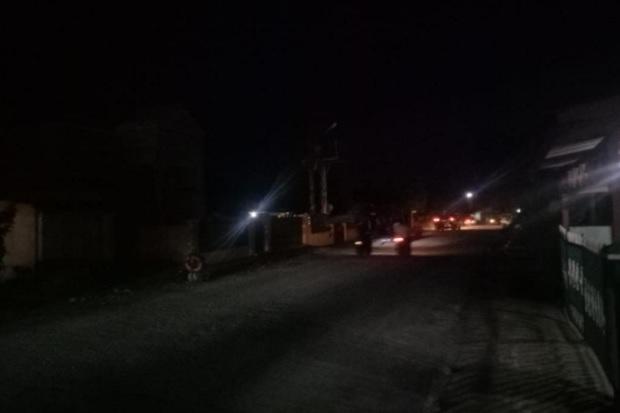 Miris! Jalan Dr Payungan Dalimunthe Padangsidimpuan Dibiarkan Gelap Gulita
