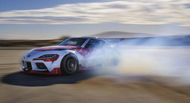 Edan, Toyota Supra Kini Bisa Drifting dengan Otonom