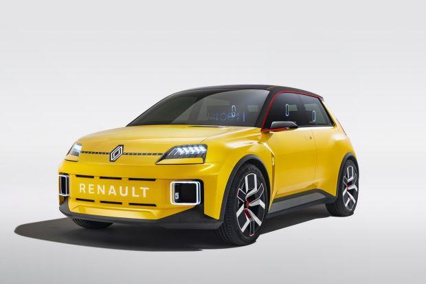 Renault 5 Bereinkarnasi Jadi Mobil Listrik