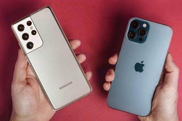 iPhone 12 Pro Max dan Galaxy S21 Ultra Saling Telikung, Siapa Lebih Unggul?