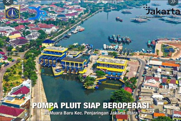 DKI Pamer Pompa Waduk Pluit, Warganet: Jangan Lupa Monitor Gorong-gorong Pak Anies