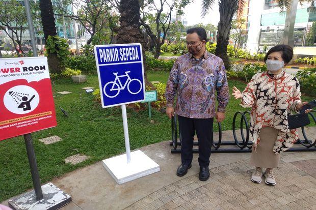 Anies Tanya Tempatmu Ramah Pesepeda malah 'Dihajar' Netizen