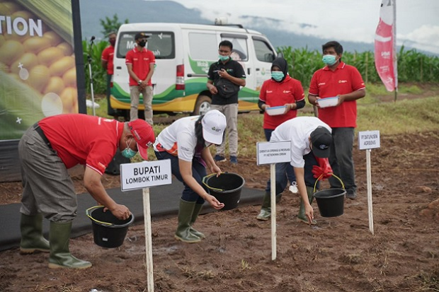 Petrokimia Gresik Luncurkan Program Agro Solution di Lombok Timur