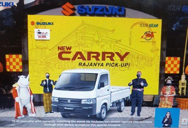 Suzuki New Carry Pick Up 2021 Hadir dengan 2 Pengembang Baru