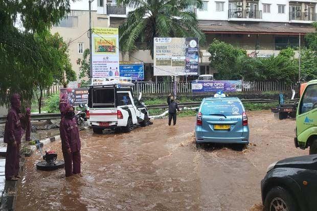 Hujan Deras, Lima Kecamatan di Kota Bekasi Tergenang