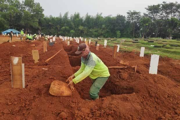 TPU Bambu Apus Jadi Pemakaman Pasien COVID-19, Pemprov Siapkan 3.000 Meter Persegi Lahan Baru