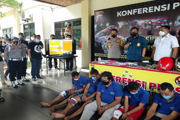 Komplotan Perampok Sadis Bersenjata Api Keok Ditembak Polisi Semarang