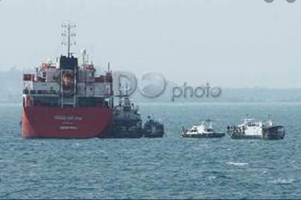 KM Tanto Tabrak Tugboat Mitra Jaya XIX di Area Pengeboran Lepas Pantai Rig WMO