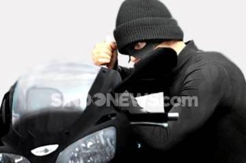 Komplotan Pencuri Gasak Motor Milik Anggota Polda Metro Jaya