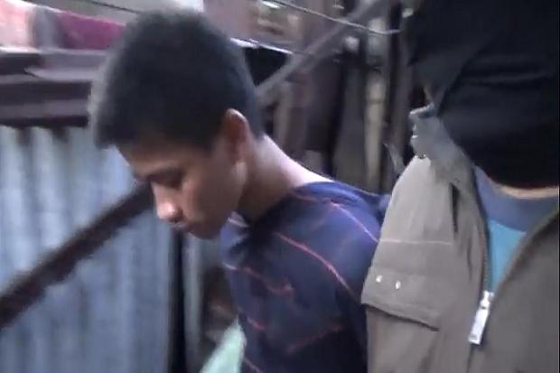 Algazali Tebas Tangan Ibu dan Anak, Tak Berkutik Saat Dibekuk Polisi