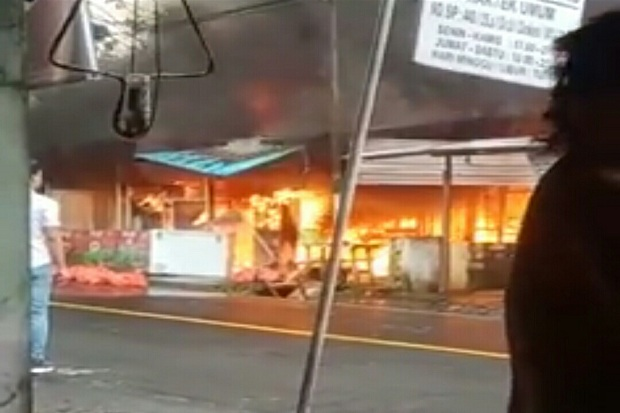 Tragis, Bocah Perempuan di Minahasa Utara Tewas Terpanggang saat Kebakaran