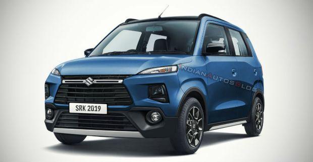 Suzuki Karimun Wagon R Premium Nongol di India, Begini Tampangnya