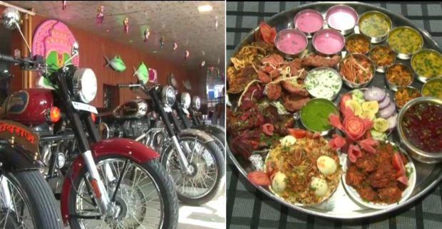 Unik, Restoran di India Gelar Lomba Makan Berhadiah Motor Royal Enfield