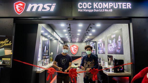 Konsumen Bisa Coba Laptop Gaming di MSI Concept Store Pertama di Mangga Dua