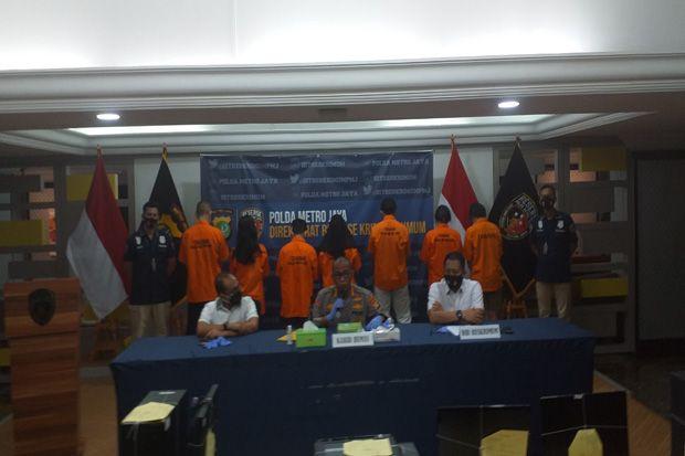 Polda Metro Jaya Bongkar Sindikat Pemalsuan Surat Antigen dan PCR