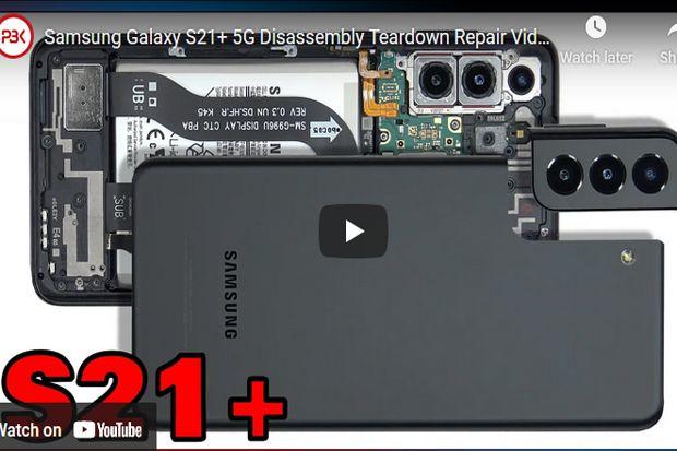 Galaxy S21 Plus Dibongkar, Begini Perbedaan Model SIM Tunggal dan Ganda
