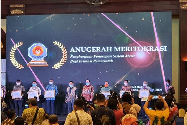 Pemprov Sulsel Terbaik Pertama Anugerah Meritokrasi