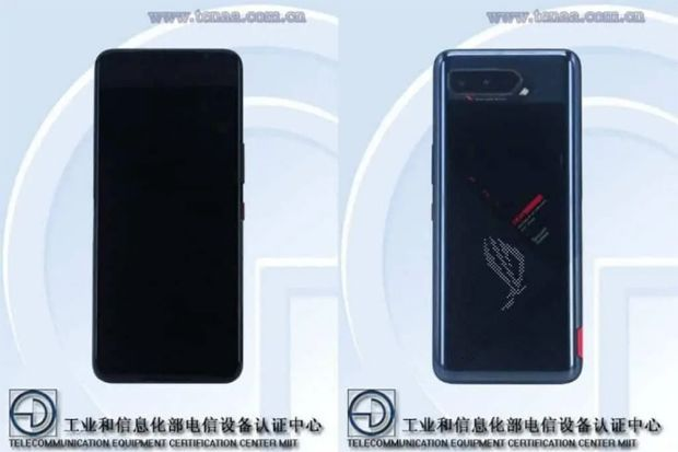 TENAA Beberkan Spesifikasi dan Gambar Desain ASUS ROG Phone 5
