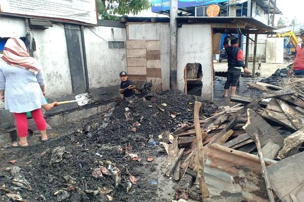 Jalan Depan Pasar Panorama Lembang Kerap Banjir, Ini Biang Keroknya