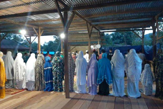 Masjid Darurat untuk Korban Gempa Bumi Mamuju