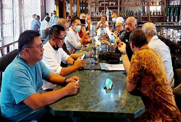 H.Anif Sumbang Rp50 Miliar untuk Pembangunan Menara Masjid Agung Medan